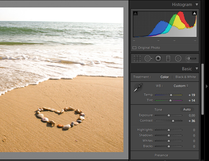 Tutorial: Beach Scene Post-production with Lightroom