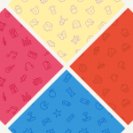 Freebie: Seamless Icon Patterns