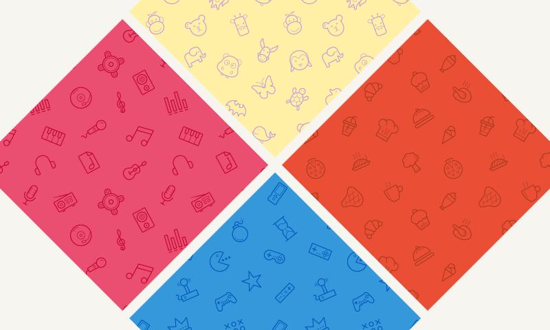 4-free-seamless-icon-patterns