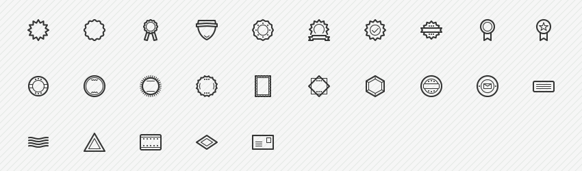badges-stamps-25-icons-sharpicons