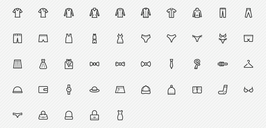 clothes-accessories-icons-sharpicons