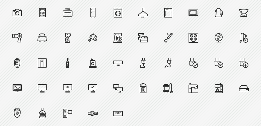 electronic-appliances-45-icons-sharpicons