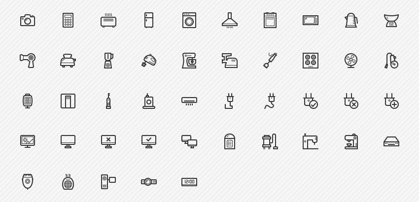 electronic-appliances-45-icons-sharpicons