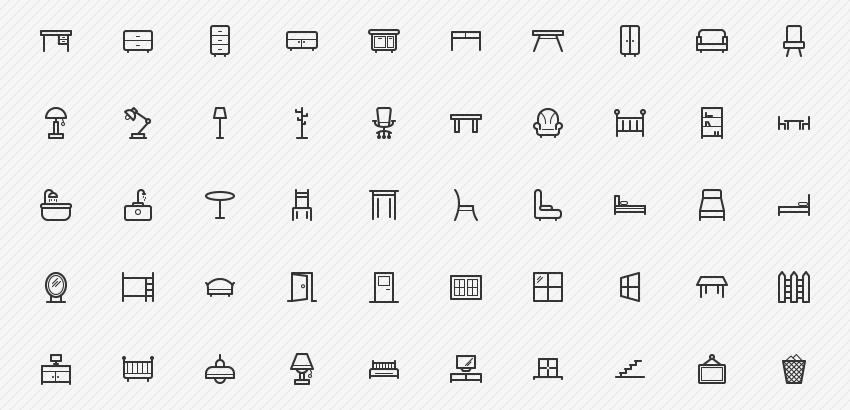 furniture-icons-50-sharpicons