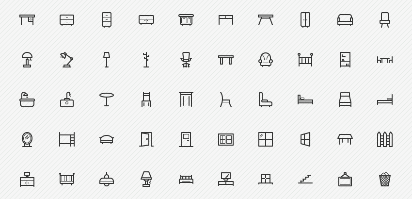 furniture-icons-50-sharpicons