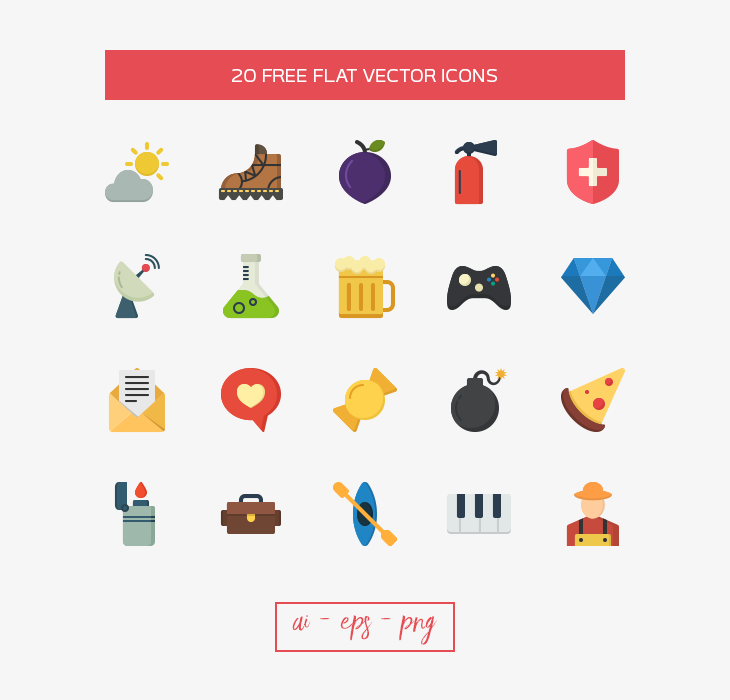 20-free-flat-vector-icons-dreamstale-preview