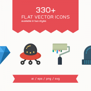 330-flat-vector-icons-dreamstale-featured