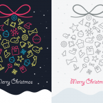 Freebie: Christmas Greeting Cards