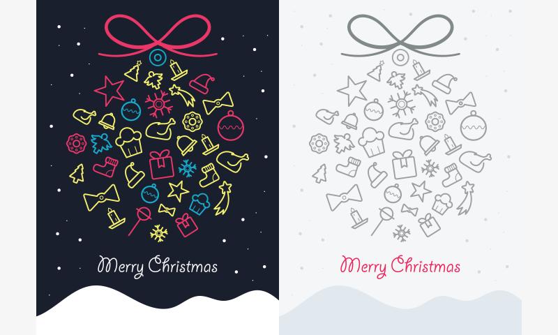 Freebie: Christmas Greeting Cards