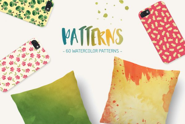 30-Watercolor-Seamless-Patterns
