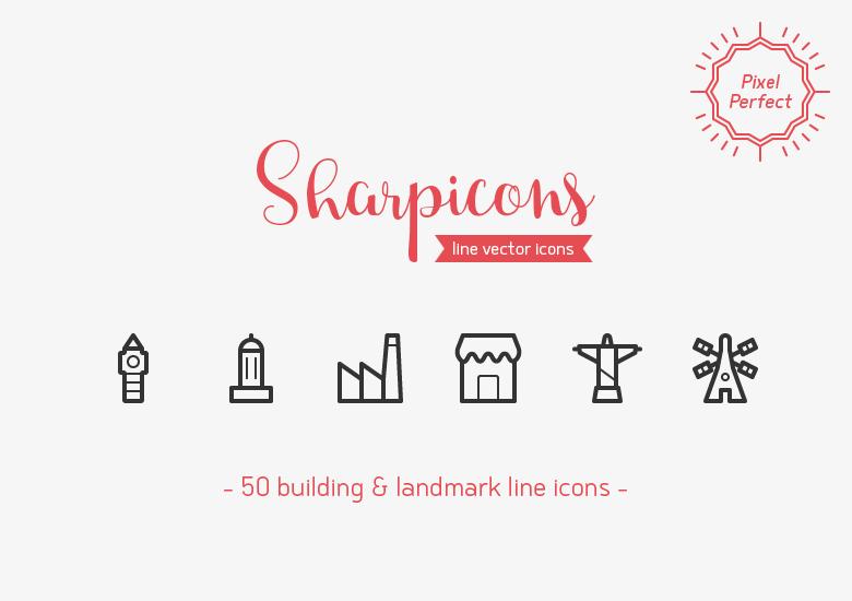 50-building-landmarks-line-vector-icons-sharpicons
