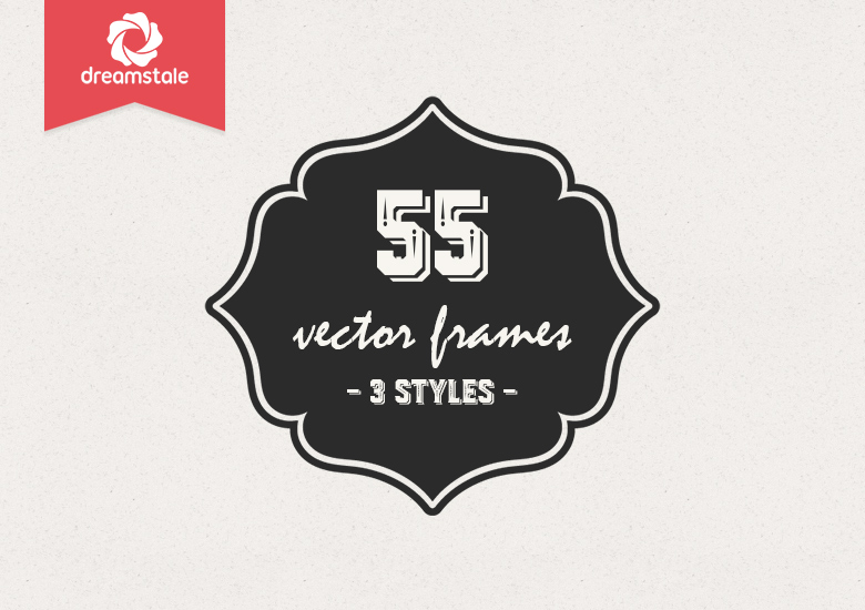 55-vintage-vector-frames