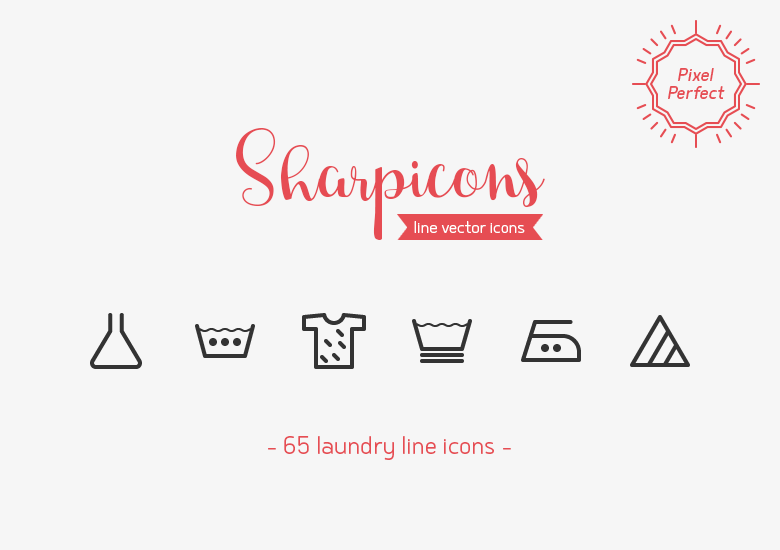 65-laundry-line-icons-sharpicons-preview