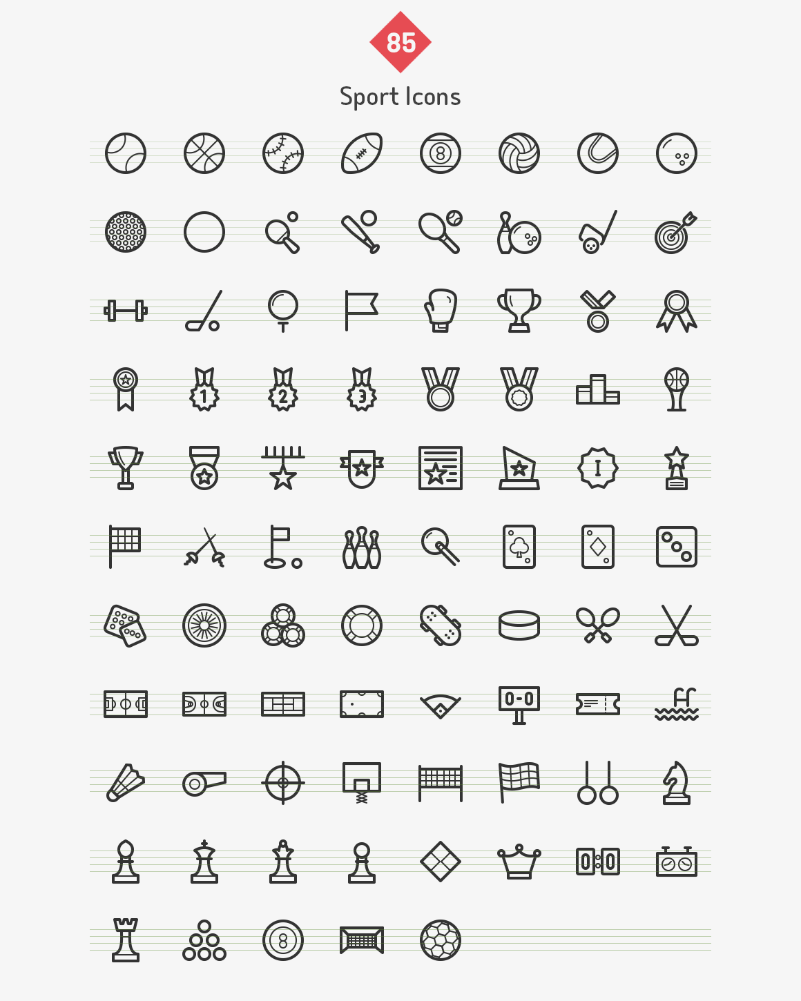 85-sport-line-icons-sharpicons-list