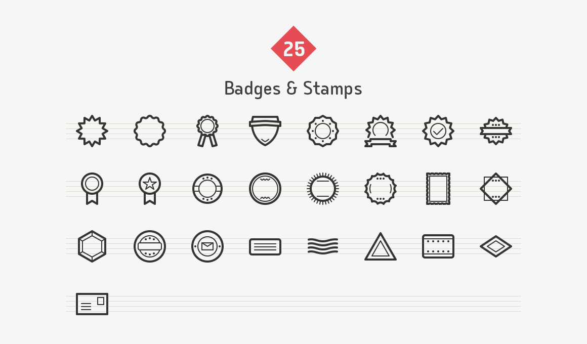 badges-stamps-line-icons-sharpicons-preview