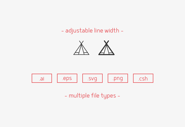 camping-line-vector-icons-sharpicons-line-width