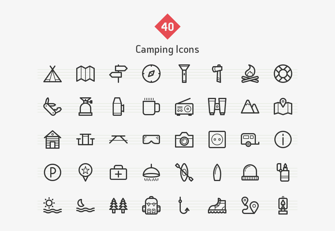 camping-line-vector-icons-sharpicons-list