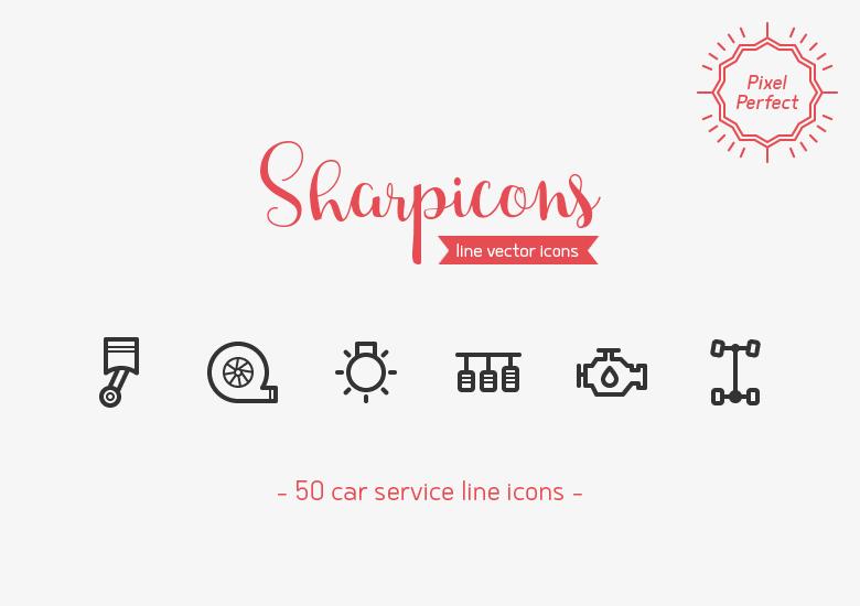 car-service-line-icons-sharpicons-preview