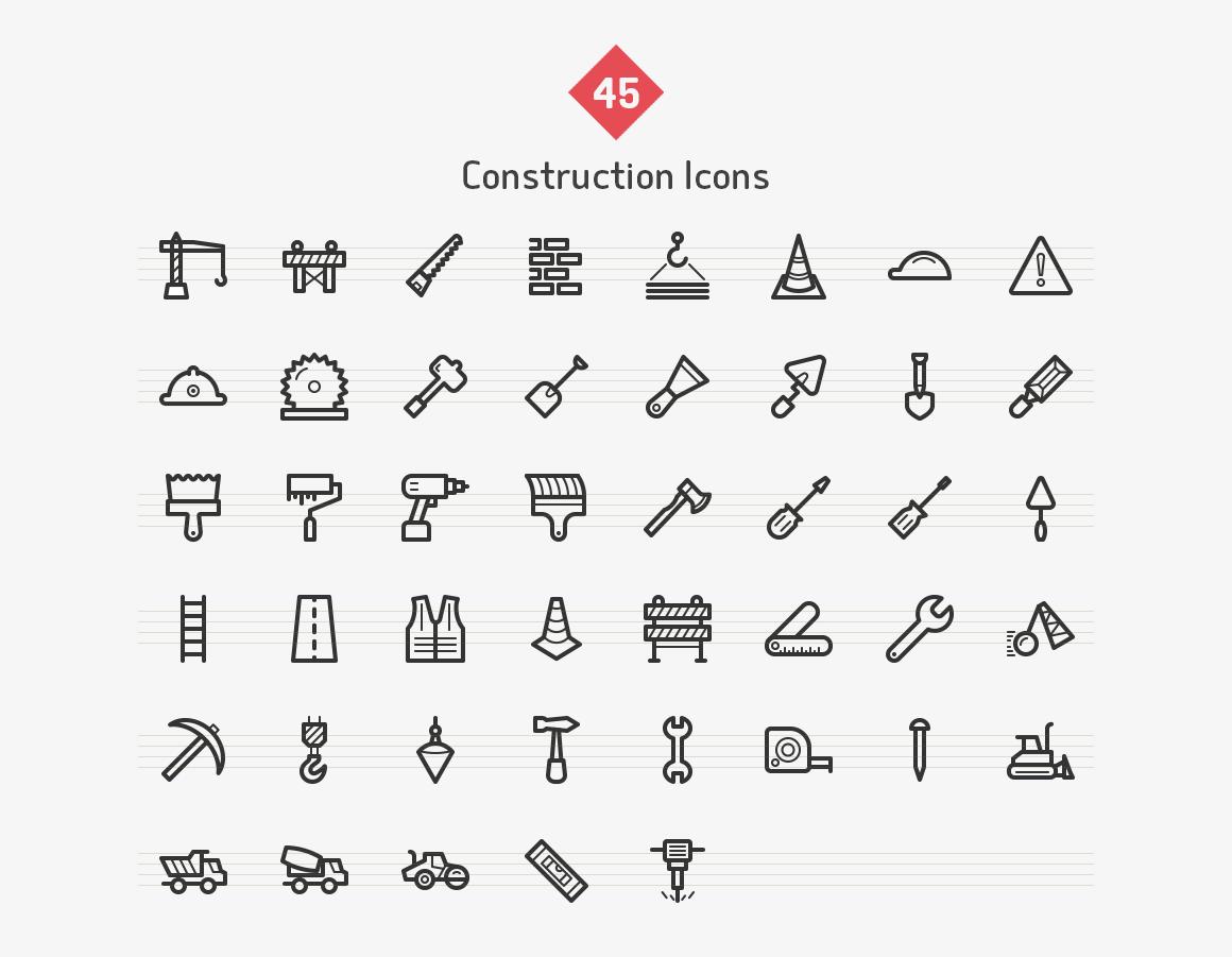 construction-line-vector-icons-sharpicons-list