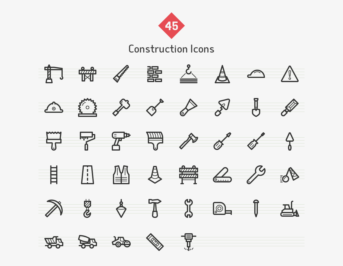 construction-line-vector-icons-sharpicons-list