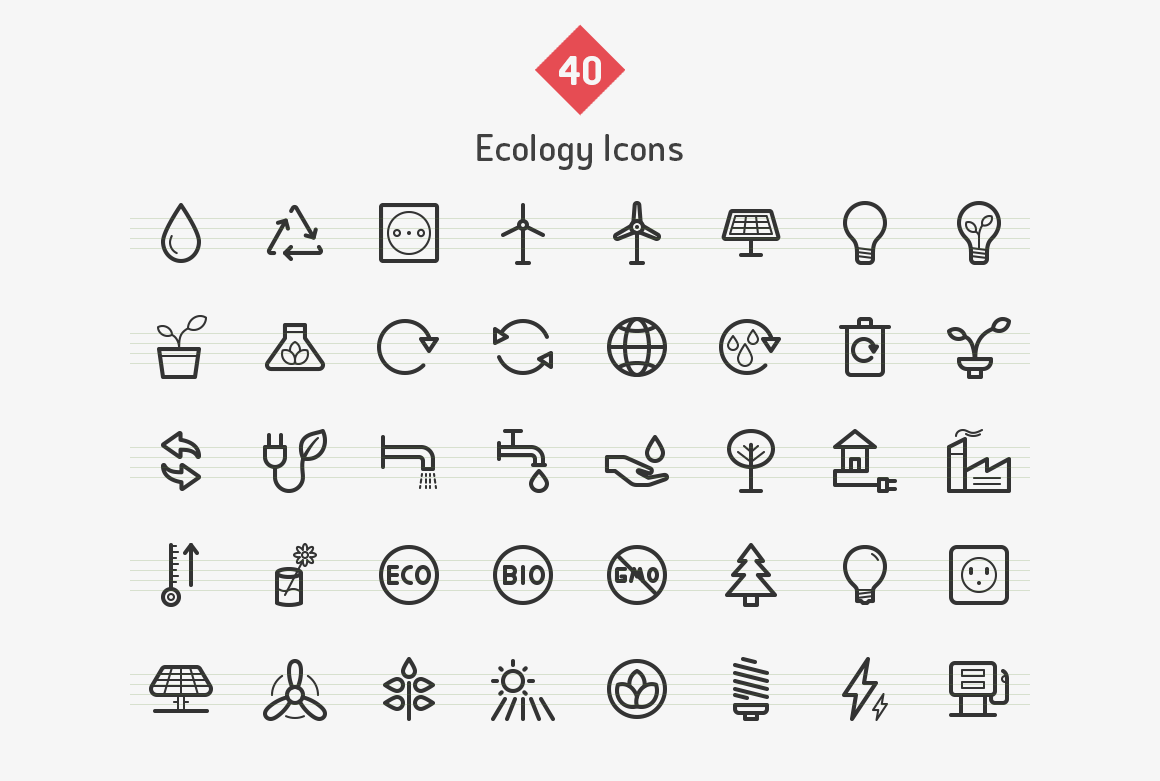 ecology-line-vector-icons-sharpicons-list