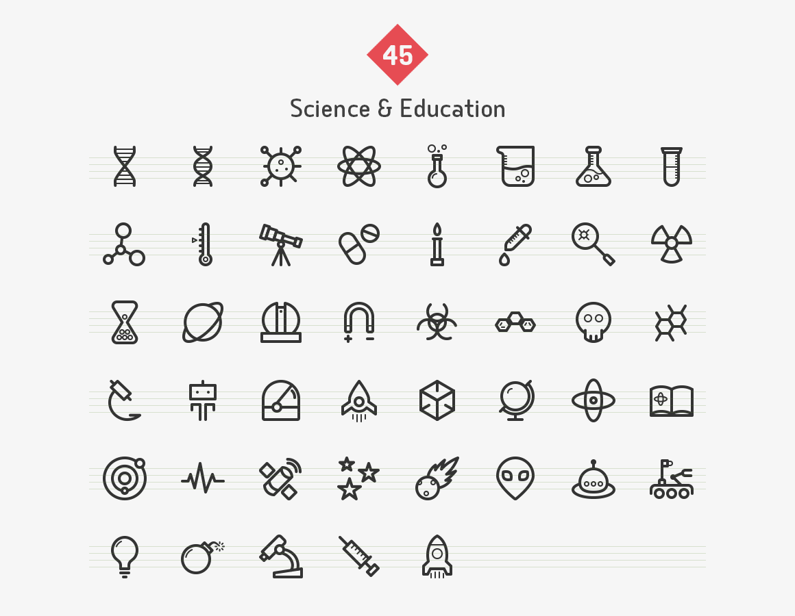 education-science-line-icons-sharpicons-list