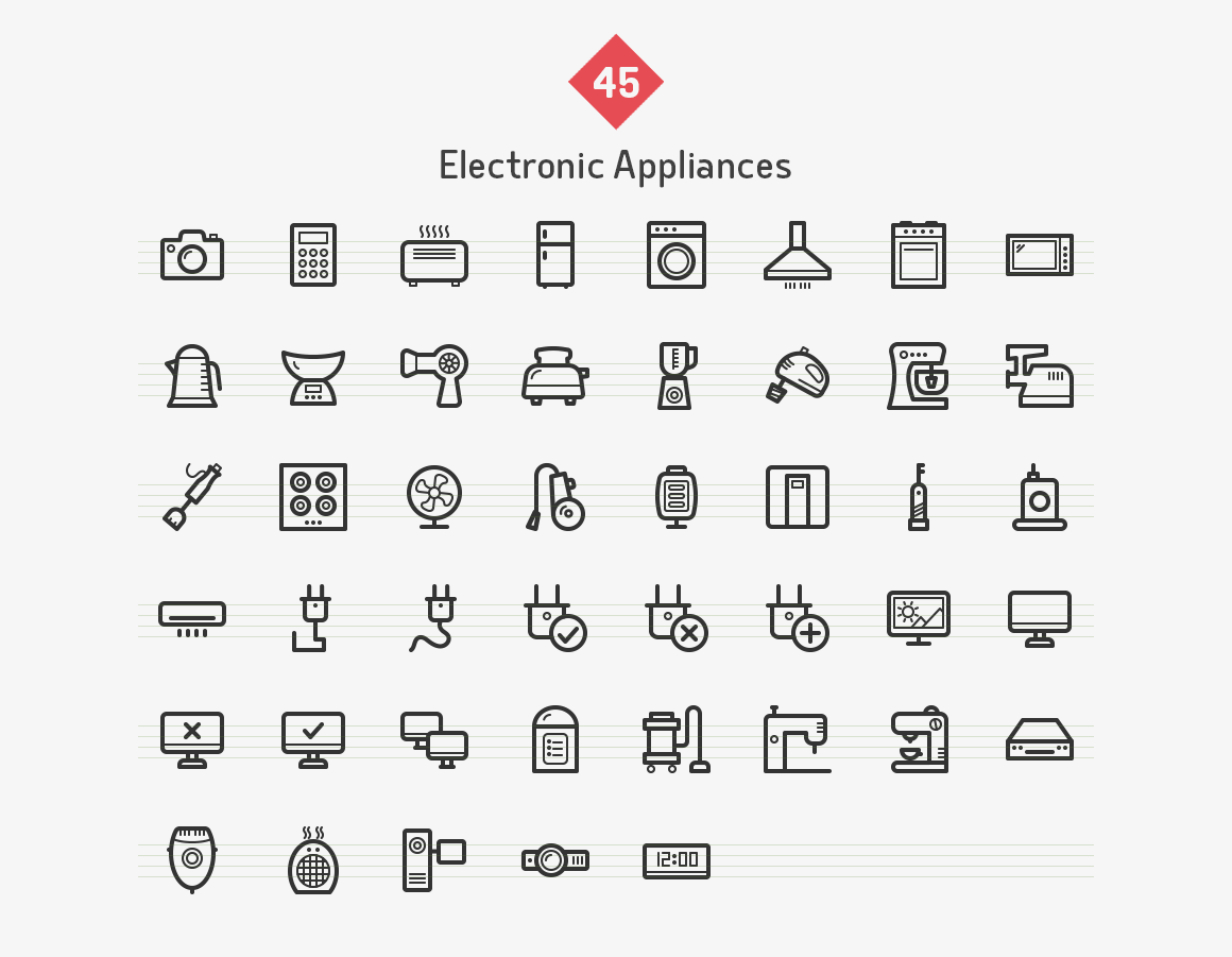 electronic-appliances-line-vector-icons-sharpicons-list