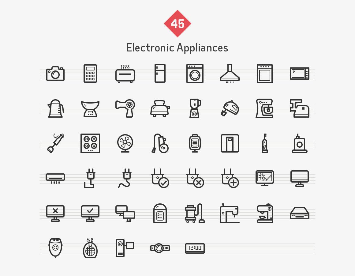 electronic-appliances-line-vector-icons-sharpicons-list