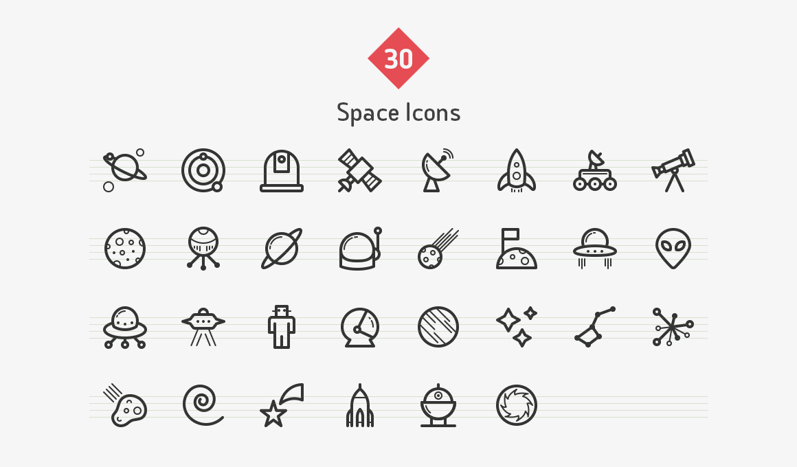 space-line-icons-sharpicons-list