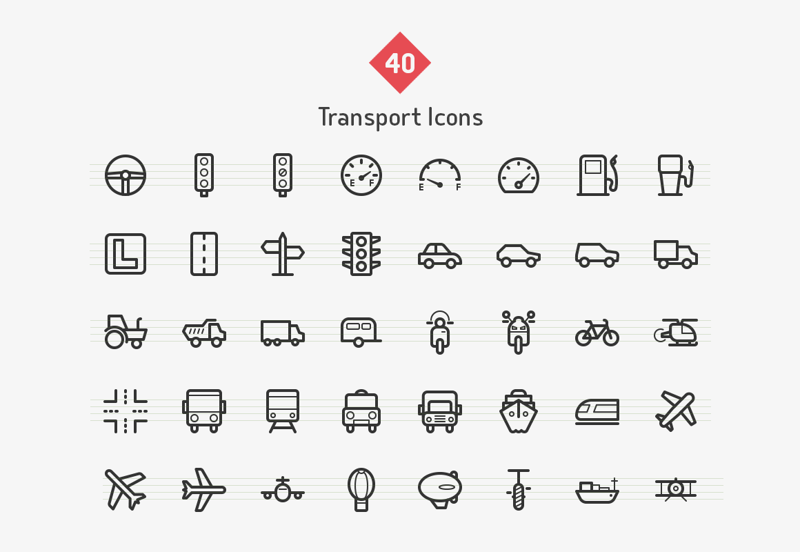 transport-line-icons-sharpicons-list