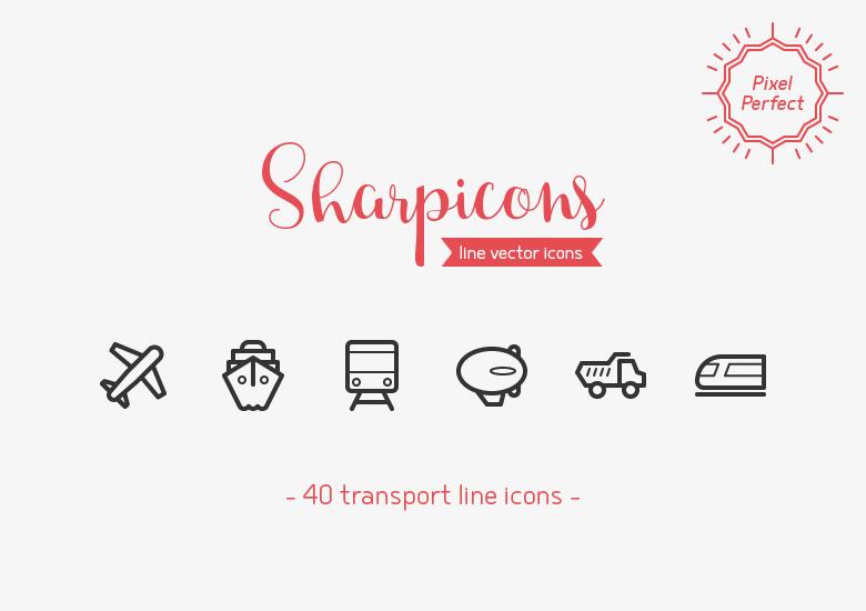transport-line-icons-sharpicons-preview