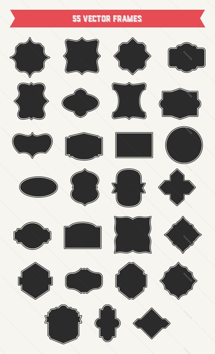 vitnage-vector-frames-large-2-w