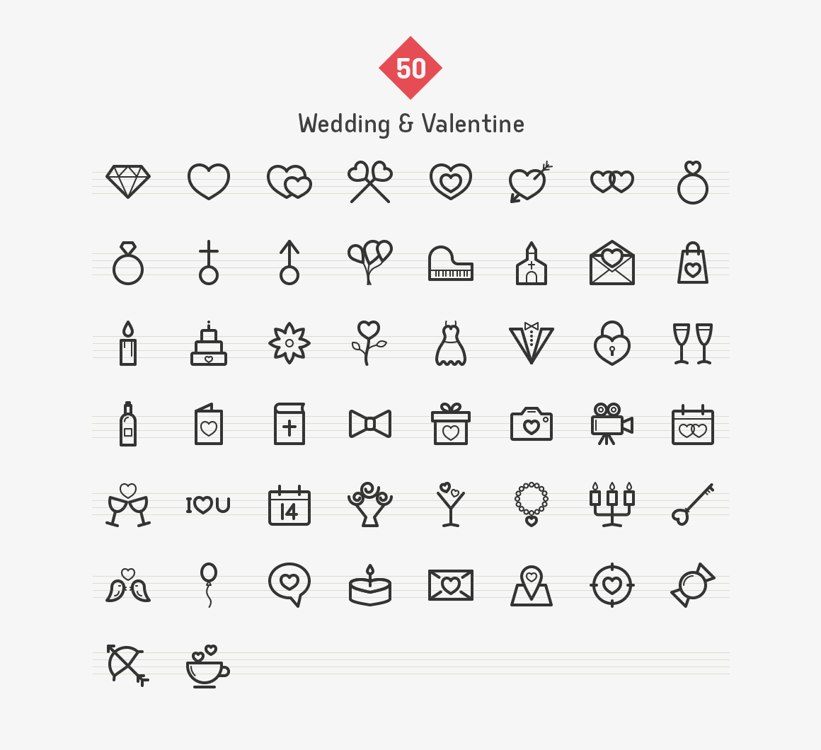wedding-valentine-line-icons-sharpicons-list