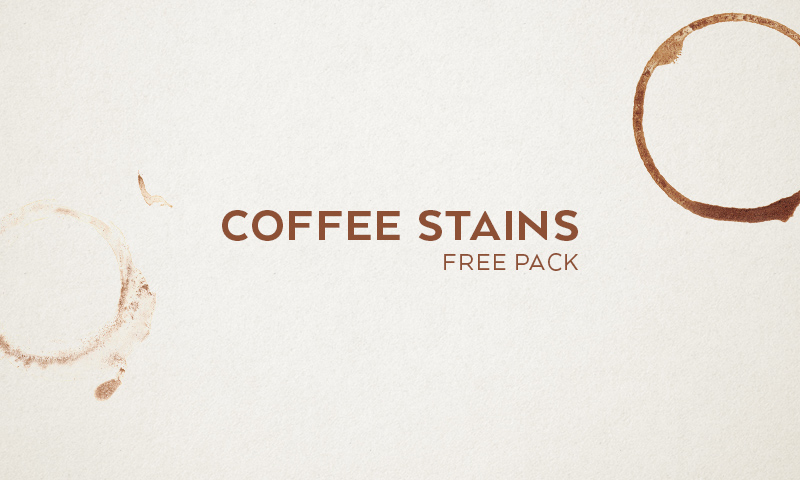 Freebie: Coffee Stains Textures
