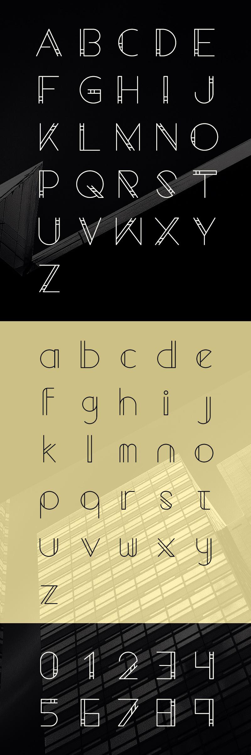 geometrico-free-font-preview