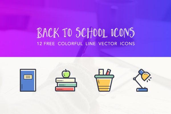 back-to-school-colorful-line-vector-icons-freebie