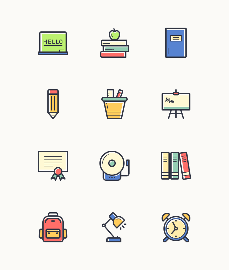 back-to-school-line-vector-icons-preview-freebie