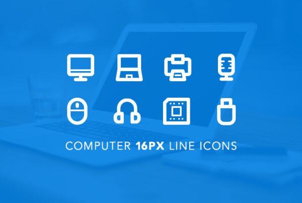 computer-tiny-line-icons