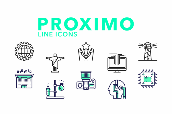 proximo-line-icons-preview