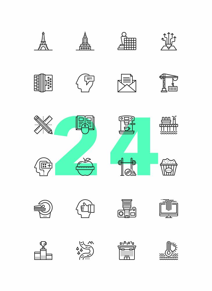 Freebie: Proximo Line Icons