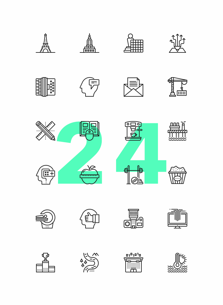 proximo-free-line-icons-preview