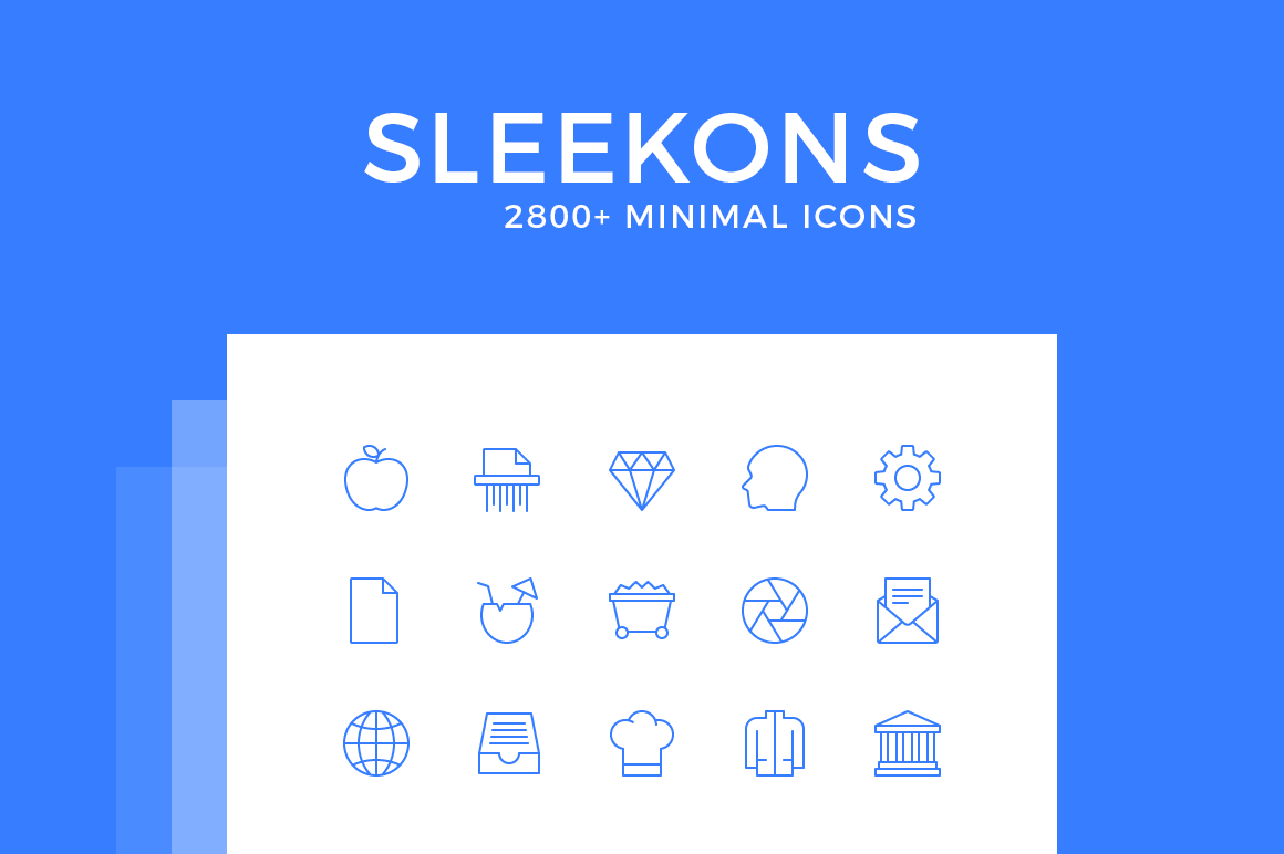 Sleekons Minimal Icons