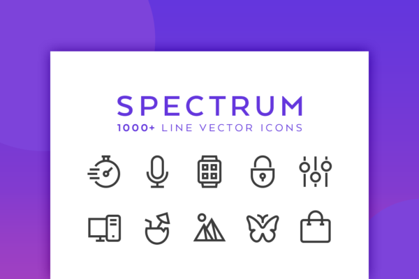 spectrum-line-vector-icons-preview