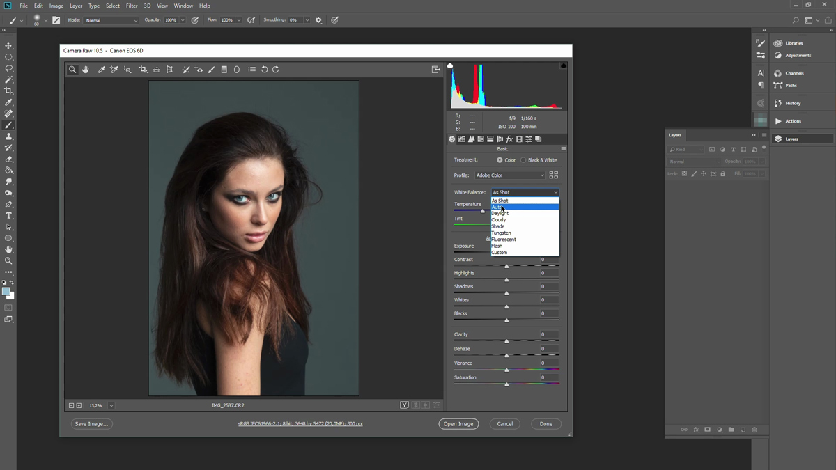 Tutorial: Remove Stray Hairs in Photoshop