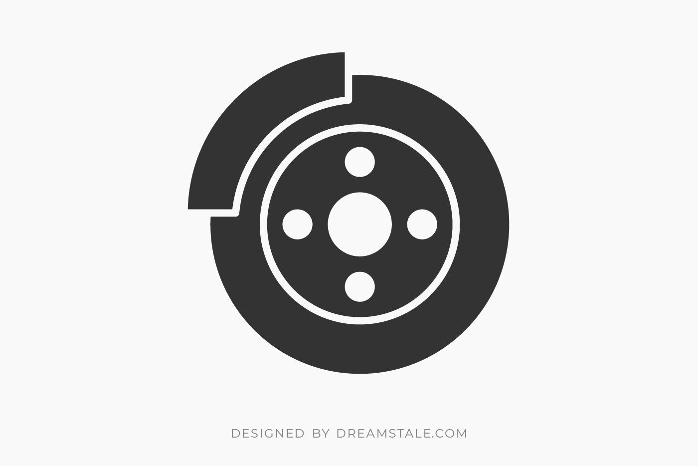 Car Brake Pads Free SVG