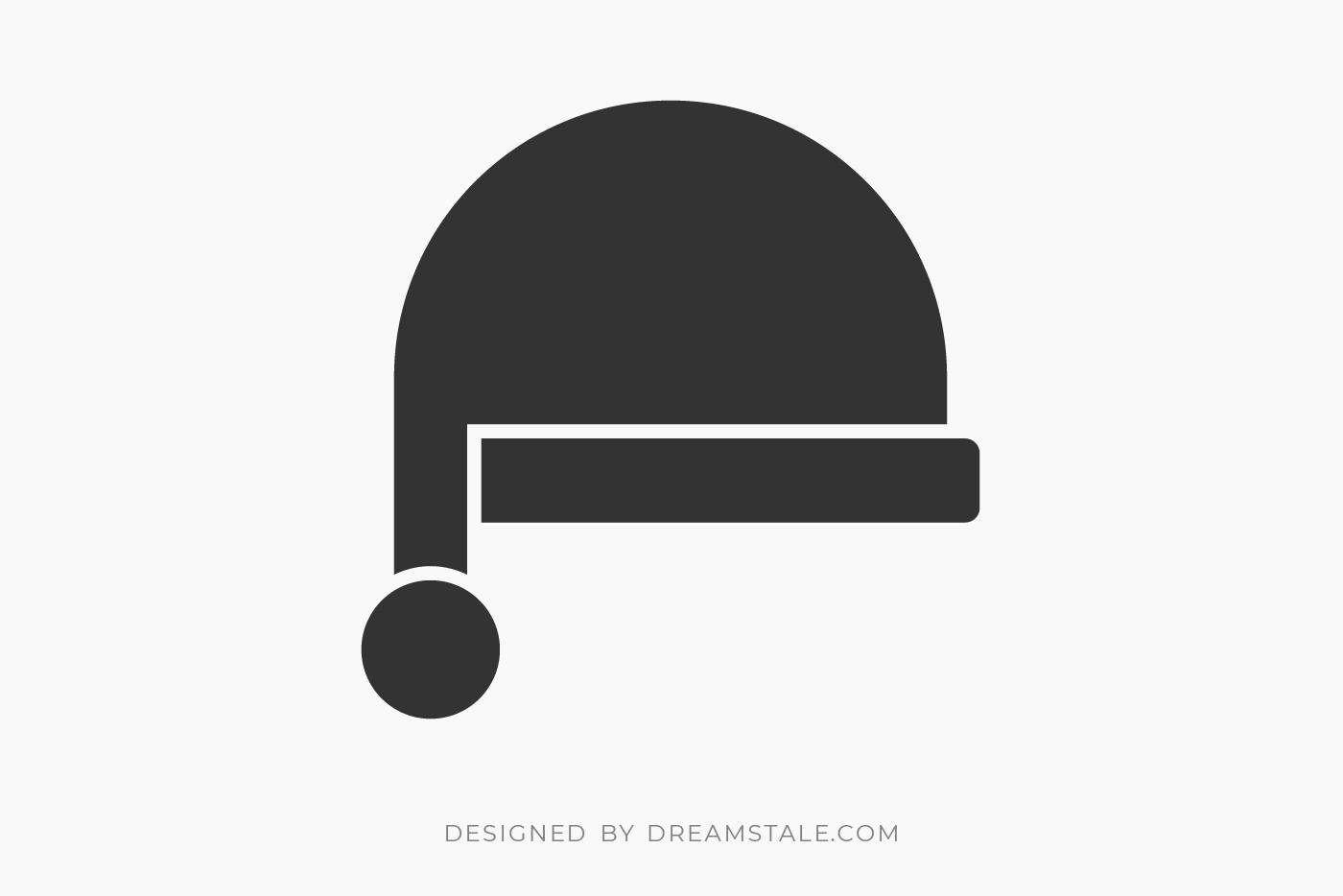 Christmas Santa Hat Clipart Free SVG