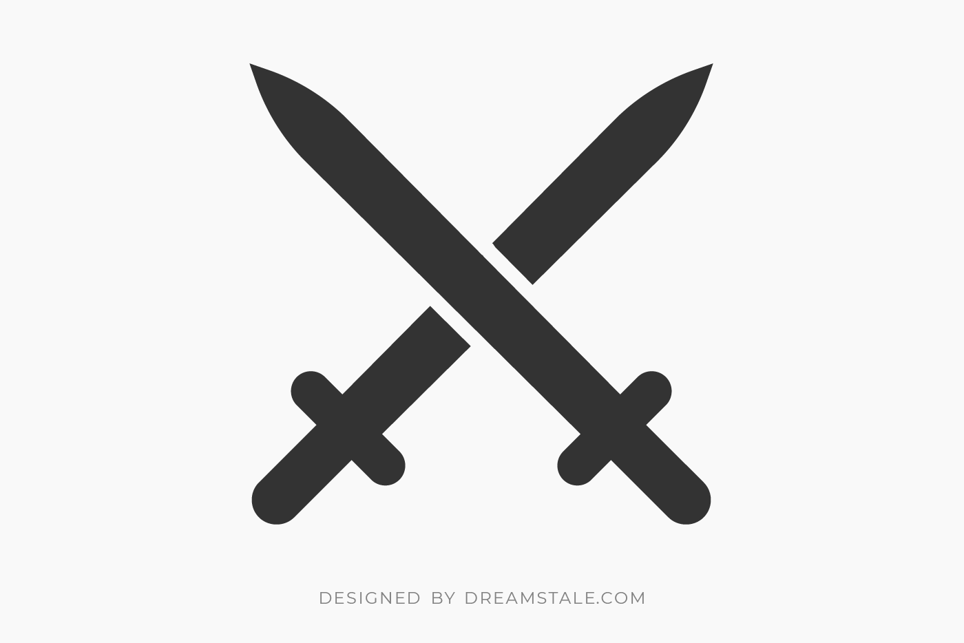 Crossed Swords Clipart Free SVG