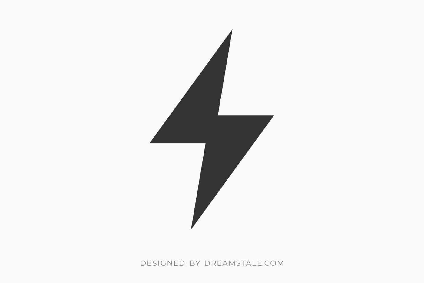 Energy Bolt Clipart Free SVG