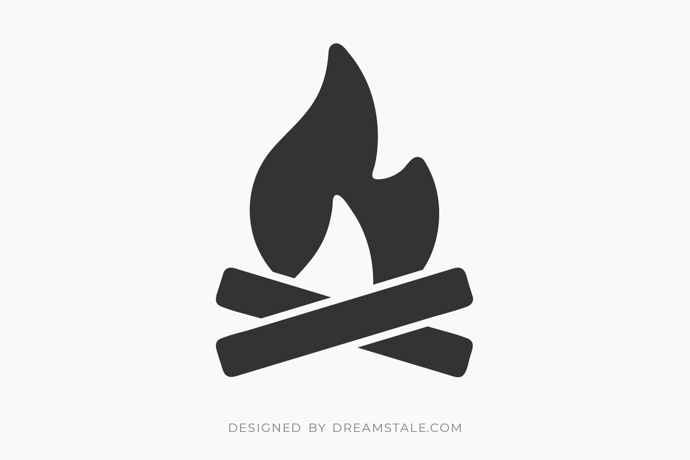 Wood Fire Clipart Free SVG
