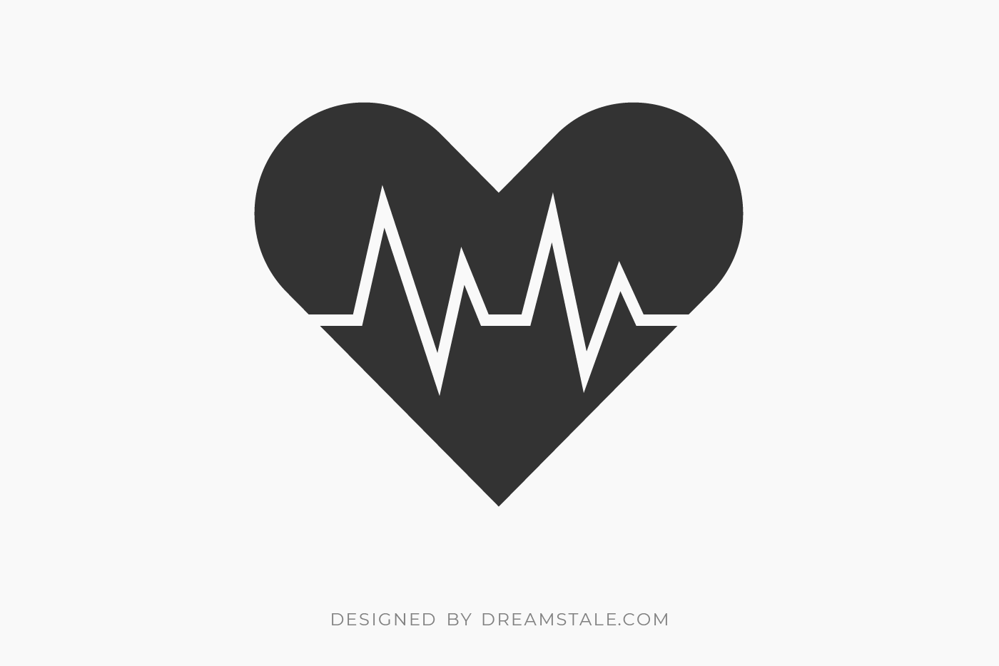 Heart Beat Clipart Free SVG